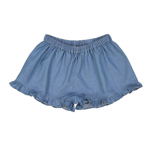 J[50%]Josephine short - bluechambray denim
