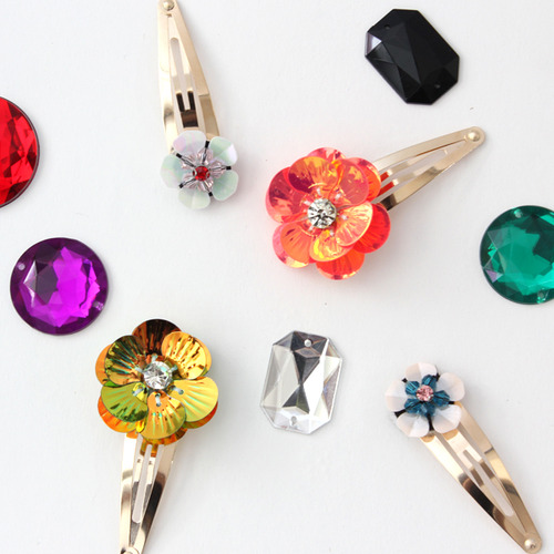 Flower pin multi set -2 colors