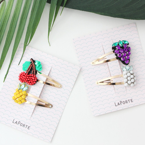 Fruit pin set - 2 type