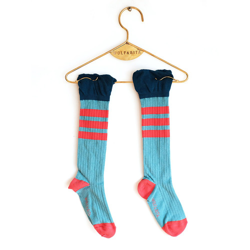 [30%]Socks Frills - Light Blue