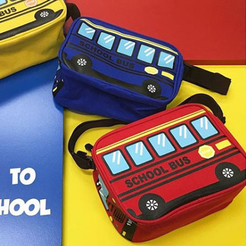 TURNOVER kids schoolbus shoulderbag