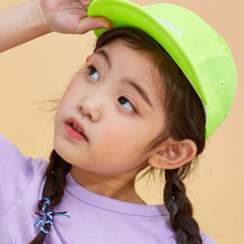 KIXX NEON CAMP CAP - neon green