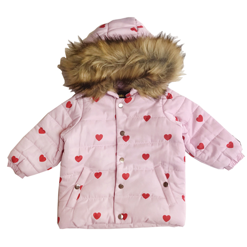 [30%]inter Coat - Red Hearts