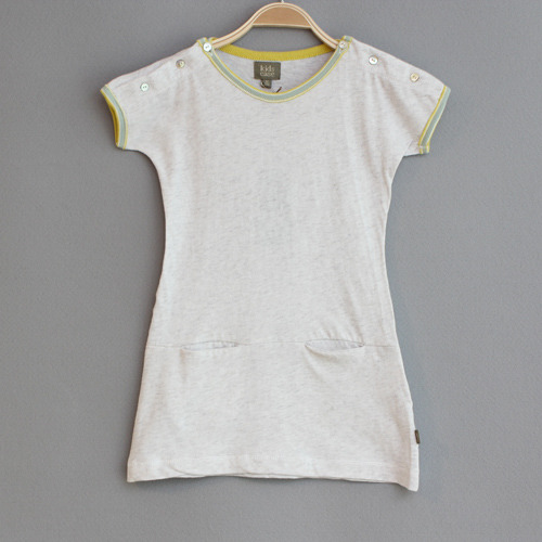 J[균일] Bing organic baby dress-Light Grey 12m 마지막 1ea