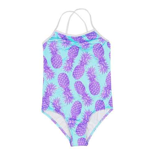 [50%]Swimsuitmaui-purple/green