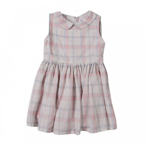 J[균일] Bee dress in Ramie pink 4y 마지막