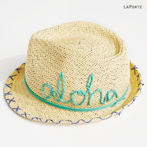 [only 1 sample sale 50%]Aloha Hat - Blue