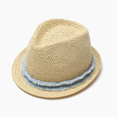 [20%]Denim Hat-light blue