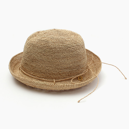 [kid]raffia knitting hat