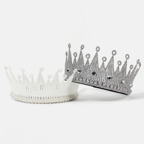 Milk Crown_large[white / silver]