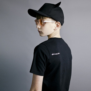 [50%]Short Sleeve Fin T ShirtInky Black
