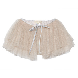 Cosmic dust wrap skirtMink